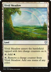 Vivid Meadow, Magic: The Gathering, Commander Anthology Volume II
