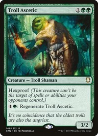 Troll Ascetic, Magic: The Gathering, Commander Anthology Volume II