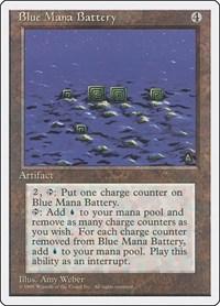 Blue Mana Battery, Magic: The Gathering, Fourth Edition