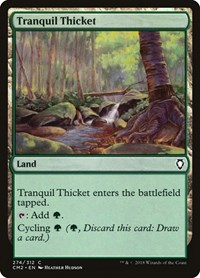 Tranquil Thicket, Magic: The Gathering, Commander Anthology Volume II
