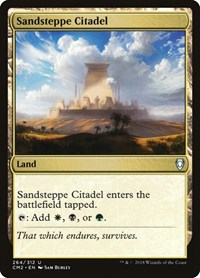 Sandsteppe Citadel, Magic, Commander Anthology Volume II