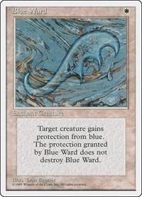 Blue Ward, Magic: The Gathering, Fourth Edition