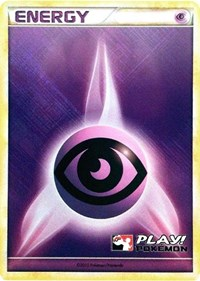 Psychic Energy (2010 Play! Pokemon Promo), Pokemon, League & Championship Cards