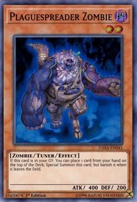 Plaguespreader Zombie, YuGiOh, Dark Saviors