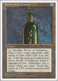 Bottle of Suleiman, Magic: The Gathering, Fourth Edition