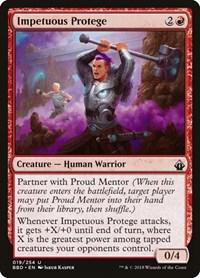 Impetuous Protege, Magic: The Gathering, Battlebond