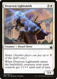 Dwarven Lightsmith, Magic: The Gathering, Battlebond