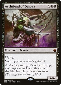 Archfiend of Despair, Magic, Battlebond