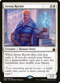 Arena Rector, Magic: The Gathering, Battlebond