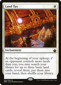 Land Tax, Magic: The Gathering, Battlebond