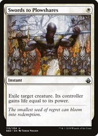 Swords to Plowshares, Magic, Battlebond
