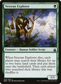 Veteran Explorer, Magic: The Gathering, Battlebond