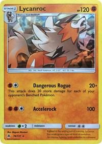 Lycanroc - 76/131 (SM Forbidden Light), Pokemon, Deck Exclusives