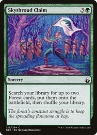 Skyshroud Claim, Magic: The Gathering, Battlebond