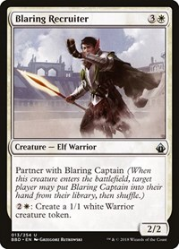 Blaring Recruiter, Magic: The Gathering, Battlebond