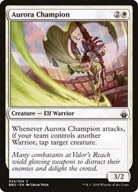 Aurora Champion, Magic: The Gathering, Battlebond