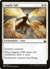 Angelic Gift, Magic: The Gathering, Battlebond