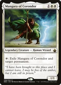 Mangara of Corondor, Magic: The Gathering, Battlebond