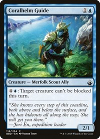Coralhelm Guide, Magic: The Gathering, Battlebond