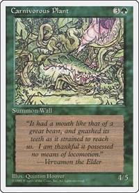 Carnivorous Plant, Magic: The Gathering, Fourth Edition