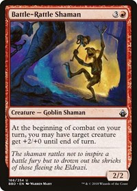 Battle-Rattle Shaman, Magic: The Gathering, Battlebond
