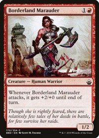 Borderland Marauder, Magic: The Gathering, Battlebond