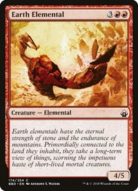 Earth Elemental, Magic: The Gathering, Battlebond