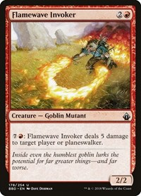 Flamewave Invoker, Magic: The Gathering, Battlebond