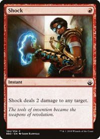 Shock, Magic: The Gathering, Battlebond