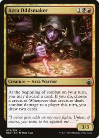 Azra Oddsmaker, Magic: The Gathering, Battlebond
