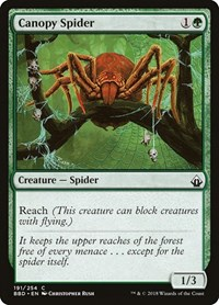 Canopy Spider, Magic: The Gathering, Battlebond