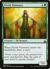Elvish Visionary, Magic: The Gathering, Battlebond