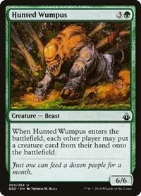 Hunted Wumpus, Magic: The Gathering, Battlebond