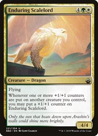 Enduring Scalelord, Magic: The Gathering, Battlebond