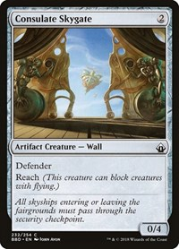 Consulate Skygate, Magic: The Gathering, Battlebond