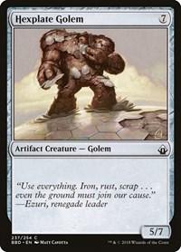Hexplate Golem, Magic: The Gathering, Battlebond