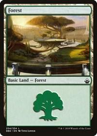 Forest, Magic: The Gathering, Battlebond