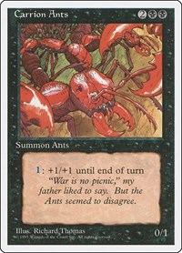 Carrion Ants, Magic, Fourth Edition