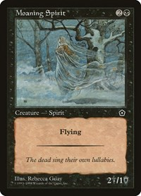 Moaning Spirit, Magic: The Gathering, Portal Second Age