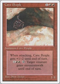 Cave People, Magic: The Gathering, Fourth Edition