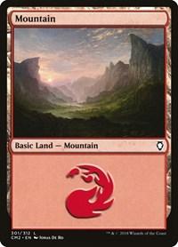 Mountain (301), Magic: The Gathering, Commander Anthology Volume II