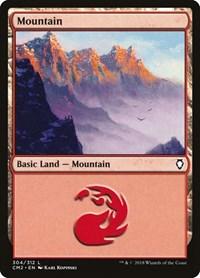 Mountain (304), Magic: The Gathering, Commander Anthology Volume II