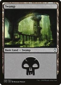 Swamp (299), Magic: The Gathering, Commander Anthology Volume II