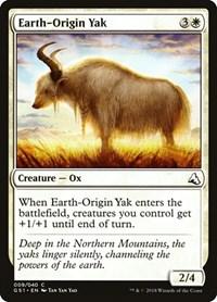 Earth-Origin Yak, Magic: The Gathering, Global Series Jiang Yanggu & Mu Yanling