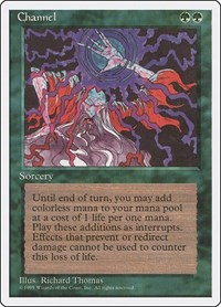 Channel, Magic: The Gathering, Fourth Edition