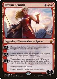 Rowan Kenrith (Alternate Art Foil) (Foil)