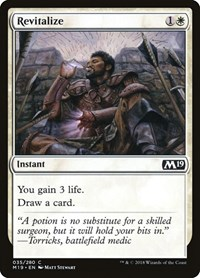 Revitalize, Magic: The Gathering, Core Set 2019
