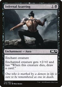 Infernal Scarring, Magic: The Gathering, Core Set 2019