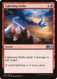Lightning Strike, Magic: The Gathering, Core Set 2019