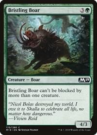 Bristling Boar, Magic: The Gathering, Core Set 2019